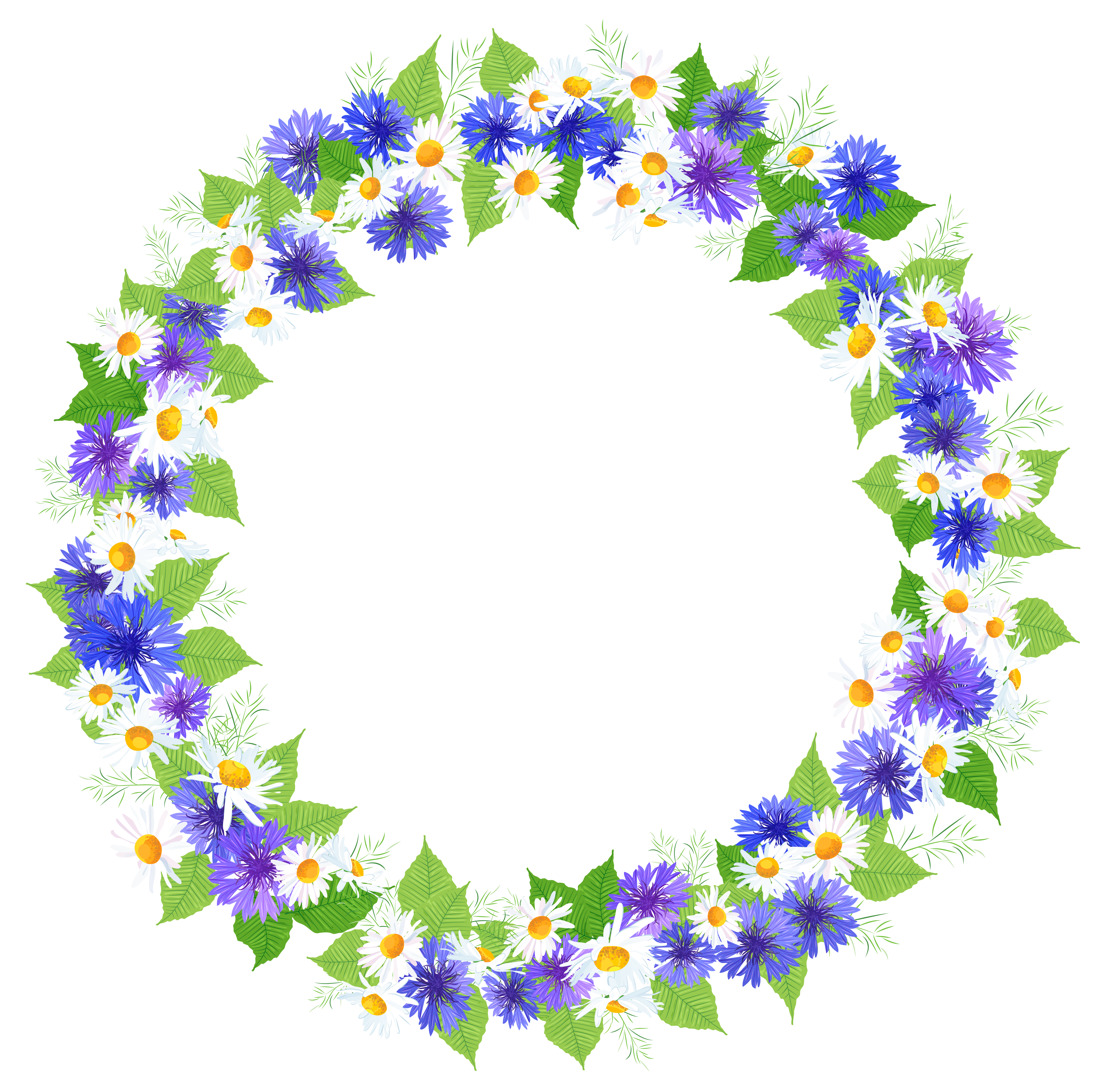 Circle flower clipart image royalty free library Floral Round Decoration PNG Clipart Image | Gallery Yopriceville ... image royalty free library