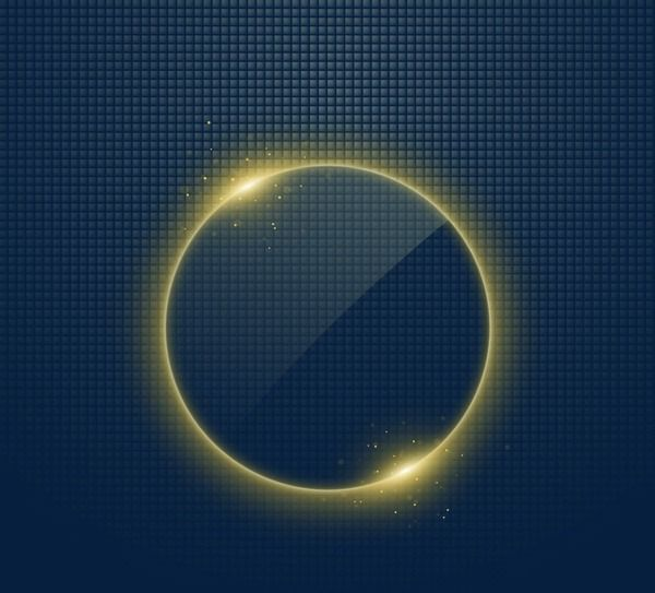 Circle light effect clipart graphic transparent Circle Light Effect, Circle Clipart, Gold, Bright PNG Transparent ... graphic transparent