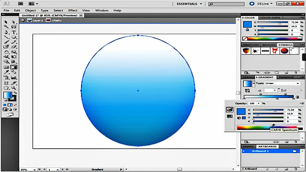 Circle of hands clipart one color picture stock How to Use the Fill and Gradient Tool in Adobe Illustrator picture stock