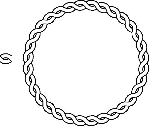 Circle border clipart viking picture freeuse library circle | Rope Border Circle clip art - vector clip art online ... picture freeuse library