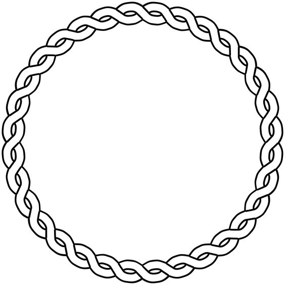 Circle of rope clipart black and white image freeuse stock Free Circle Black Cliparts, Download Free Clip Art, Free Clip Art on ... image freeuse stock
