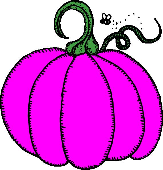 Pink pumpkin clipart clip art royalty free Pink Pumpkin Clip Art at Clker.com - vector clip art online, royalty ... clip art royalty free
