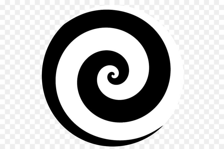 Circle swirl clipart graphic black and white Black Circle clipart - Circle, transparent clip art graphic black and white