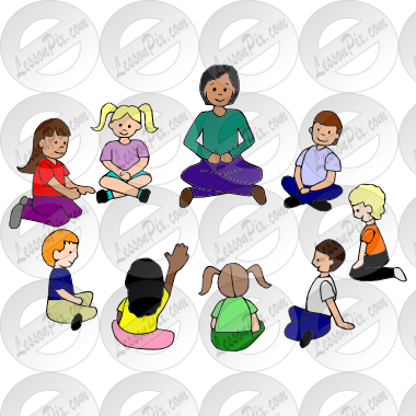 Circle time preschool clipart jpg freeuse library Time Picture For Classroom Therapy Use Great Circle Time Clipart ... jpg freeuse library