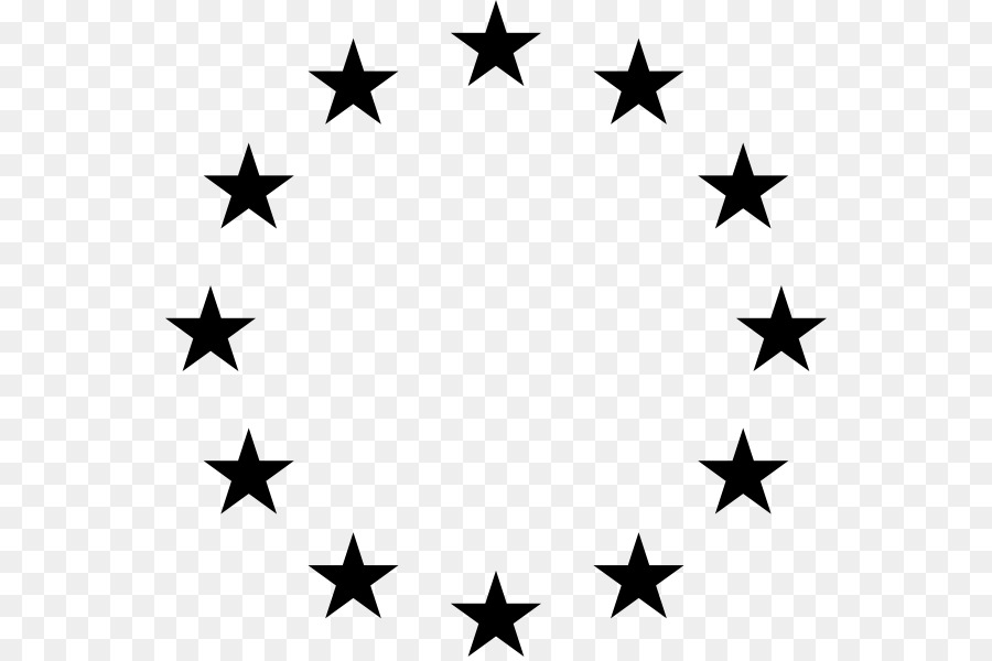 Circlw star clipart picture transparent library Black Star clipart - Star, Line, Font, transparent clip art picture transparent library