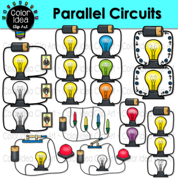 Circuits clipart svg download Parallel Circuits Clip Art svg download