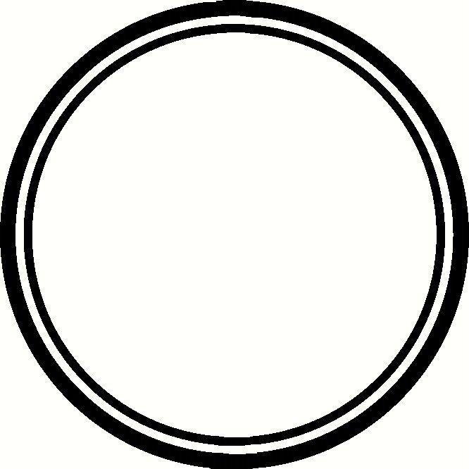 Circular frame clipart