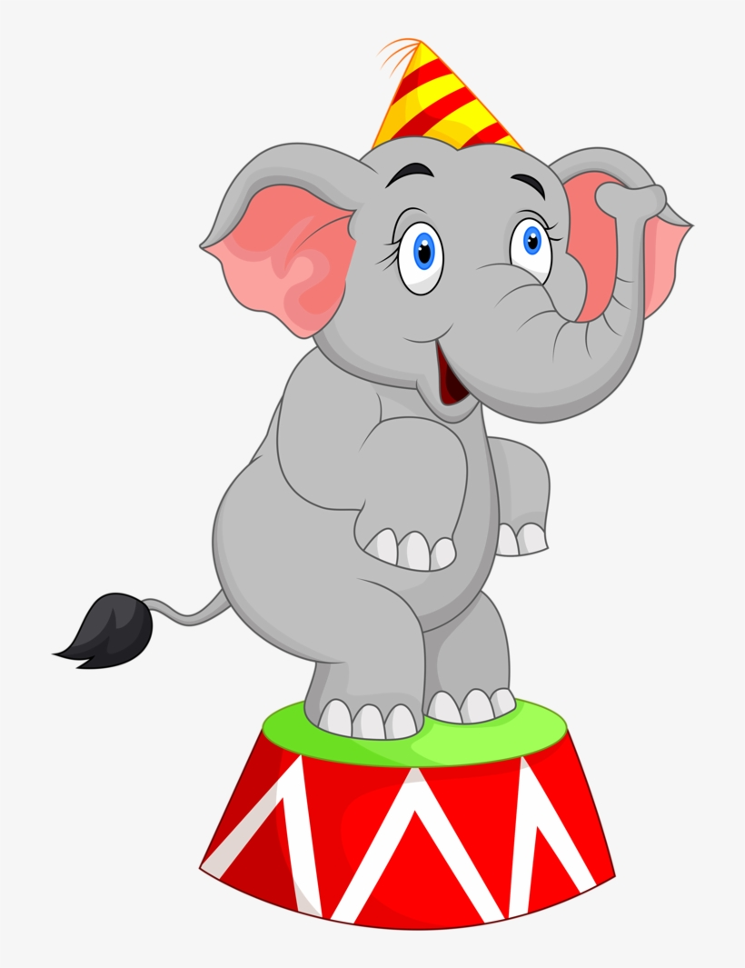 Circus clipart carnival svg transparent Clipart Train Carnival - Circus Elephant Clipart Transparent PNG ... svg transparent