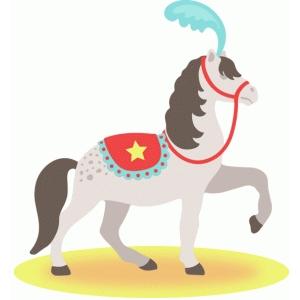 Circus horse clipart clip stock Circus Horses Clipart clip stock