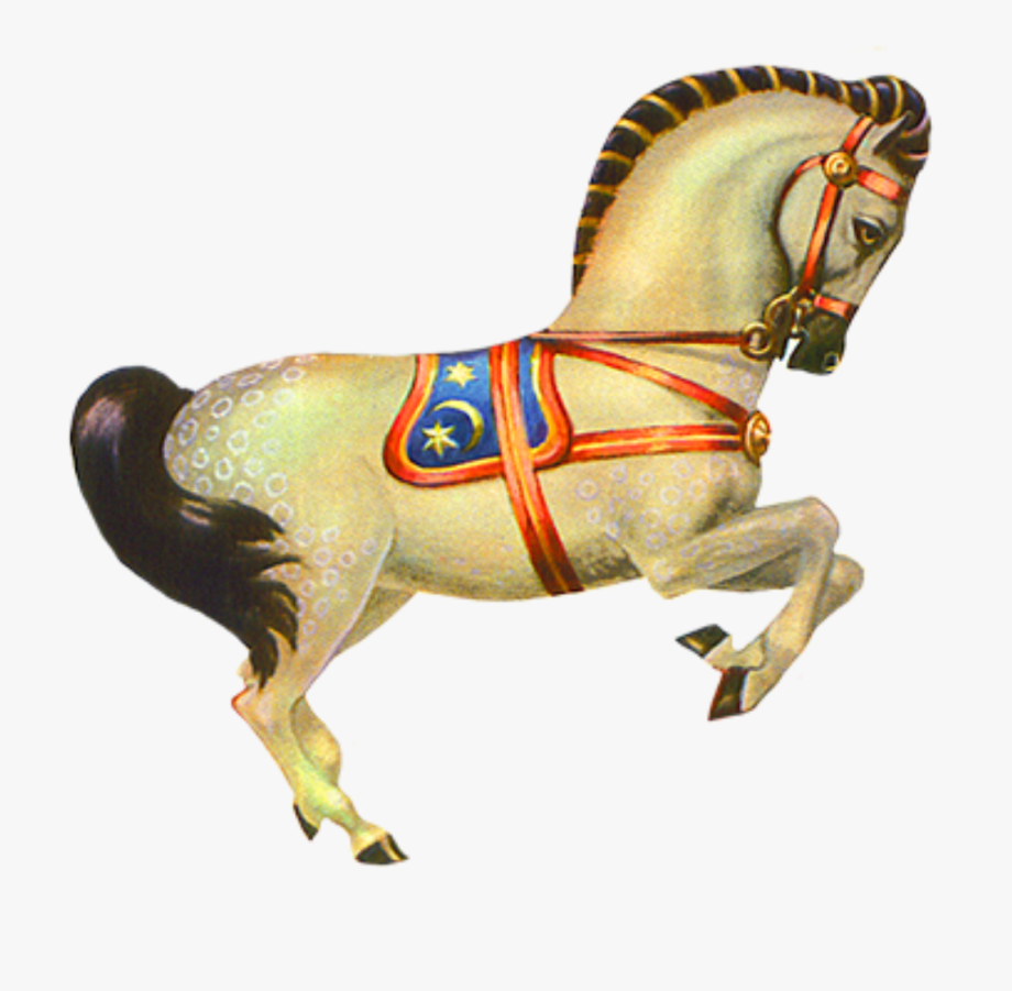 Circus horse clipart png black and white Carousel Horse Png - Vintage Circus Animals #362707 - Free Cliparts ... png black and white