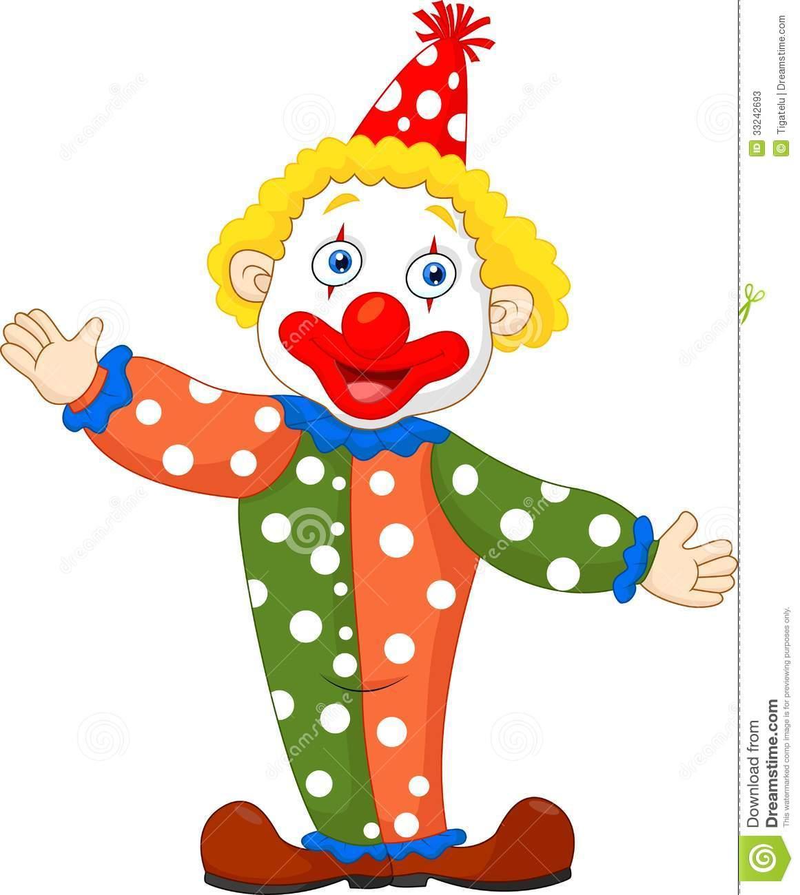 Circus joker clipart svg black and white Cartoon Clown Clipart - Clipart Kid svg black and white