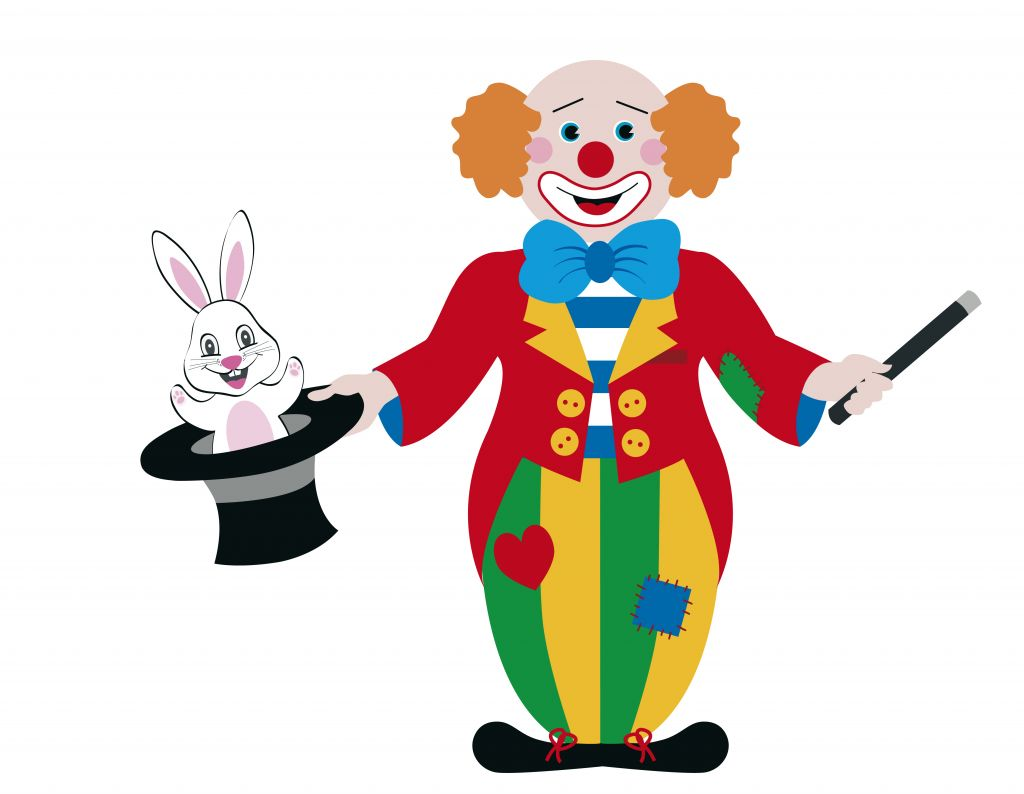 Circus joker clipart svg freeuse Cartoon Clown Clipart - Clipart Kid svg freeuse