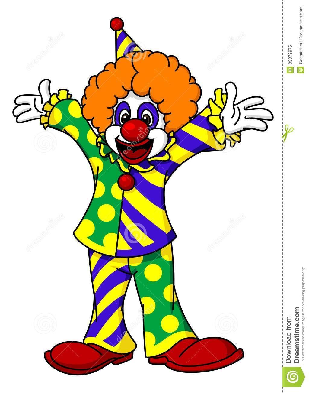 Circus joker clipart free Circus Clown Clipart - Clipart Kid free