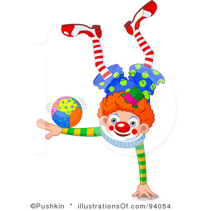 Circus joker clipart banner stock Circus Clown Clipart - Clipart Kid banner stock