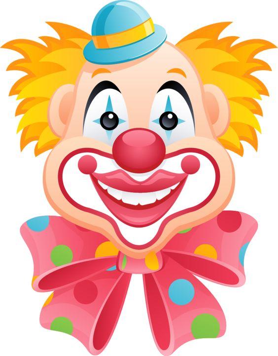 Circus joker face clipart clipart royalty free library Mis Laminas para Decoupage | Clip art, Decoupage and Clowns clipart royalty free library