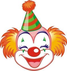 Circus joker face clipart picture freeuse download Circus joker face clipart - ClipartFest picture freeuse download
