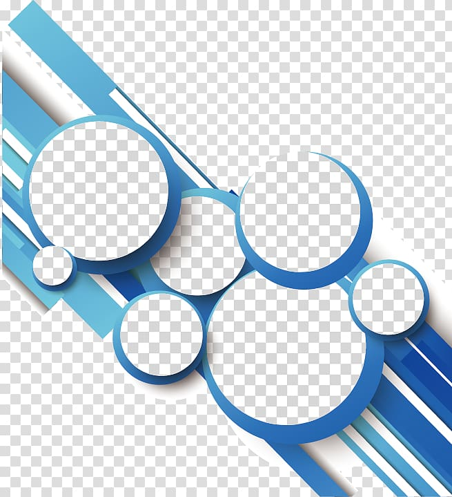 Cirlcle dots clipart gray clip Circle Geometry Line, Blue abstract geometric lines circle, white ... clip