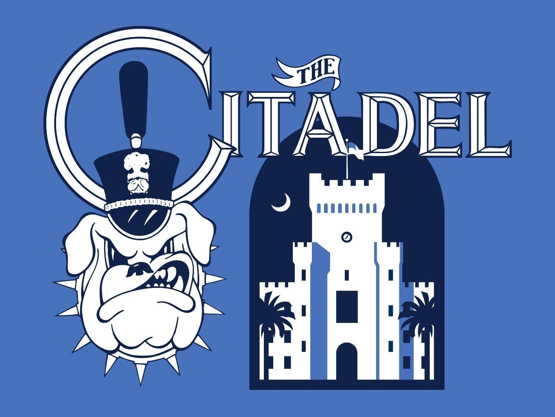 Citadel cadet clipart banner free Citadel Bulldogs | College logos | Sports logo, Sports art, College banner free