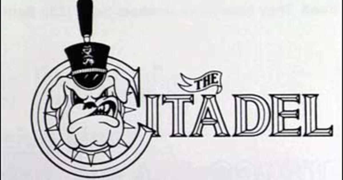 Citadel cadet clipart banner black and white download Citadel Cadets Caught In Secret Room - CBS News banner black and white download