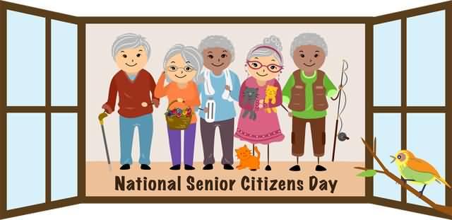 Citzens clipart clip art royalty free download National Senior Citizens Day Senior Citizens Clipart clip art royalty free download
