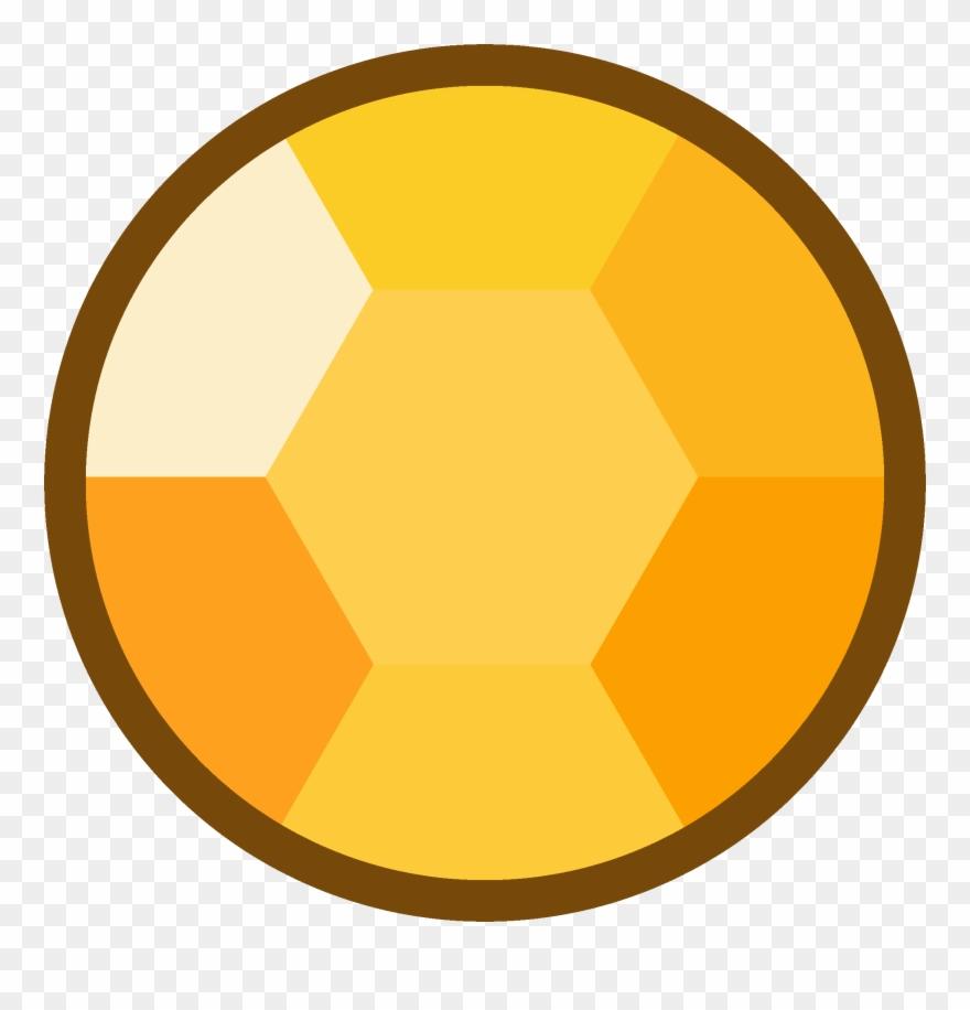 Citrine clipart jpg library stock Yellow Clipart Eyeball - Steven Universe Citrine Gem - Png Download ... jpg library stock