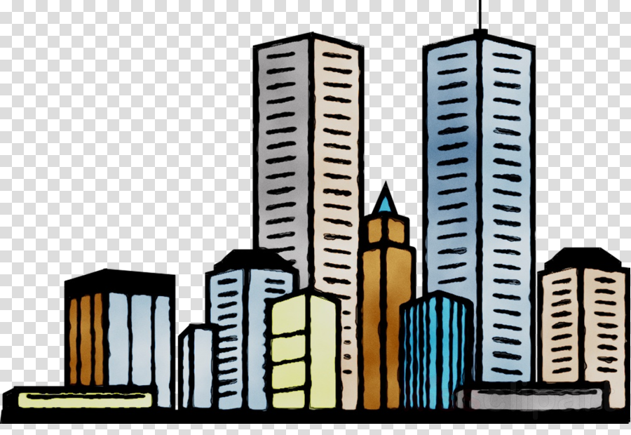 City buildings clipart svg free download Real Estate Background clipart - Building, Illustration, City ... svg free download