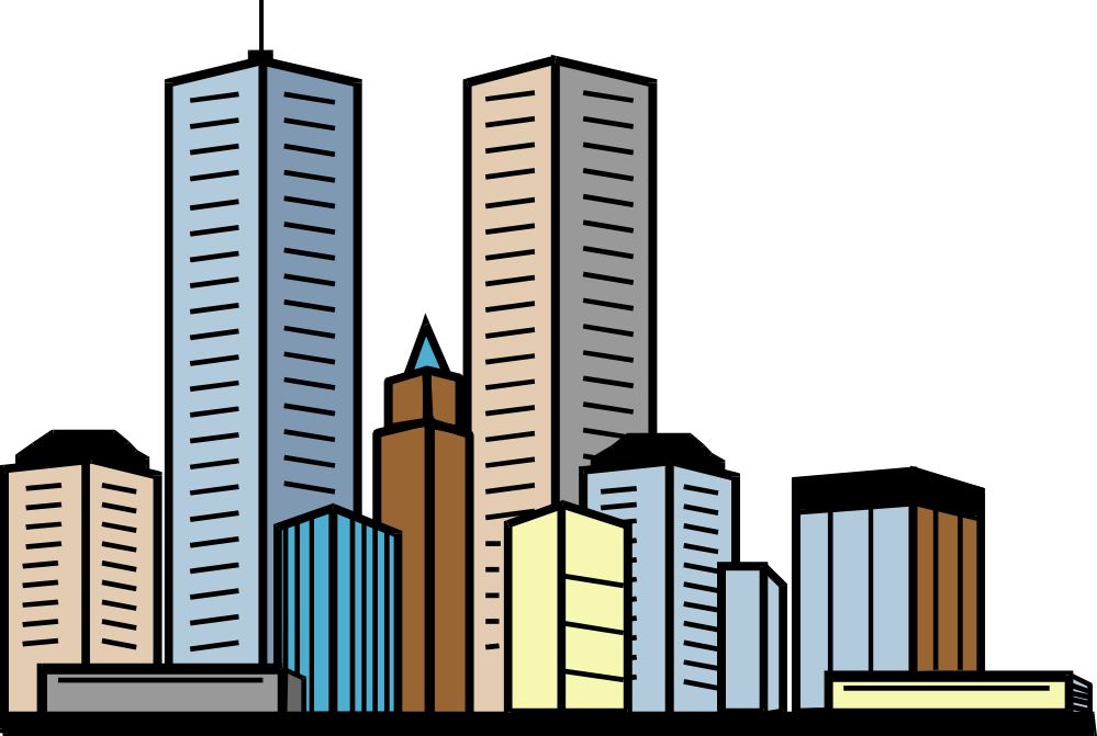 City buildings clipart image Buildings Clipart & Look At Clip Art Images - ClipartLook image
