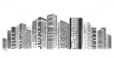 City clipart black and white png graphic freeuse City building clipart black and white png 3 » Clipart Station graphic freeuse