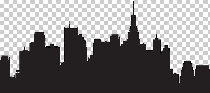 City clipart black and white png png stock New York City Skyline Silhouette PNG, Clipart, Big City, Black And ... png stock