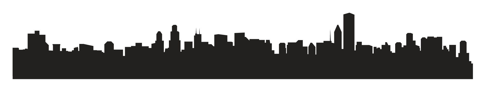Vegas skyline silhouette clipart picture transparent stock Black And White City PNG Transparent Black And White City.PNG Images ... picture transparent stock