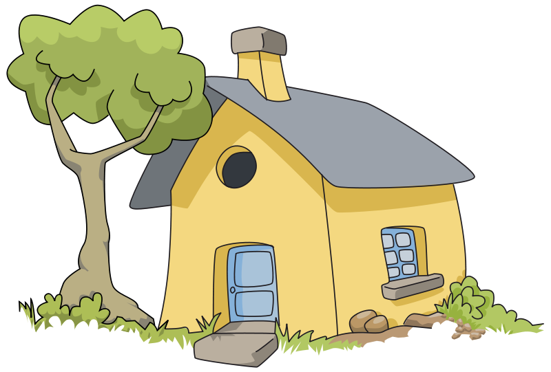 Cute little house clipart png Free Illustrations Of Houses, Download Free Clip Art, Free Clip Art ... png