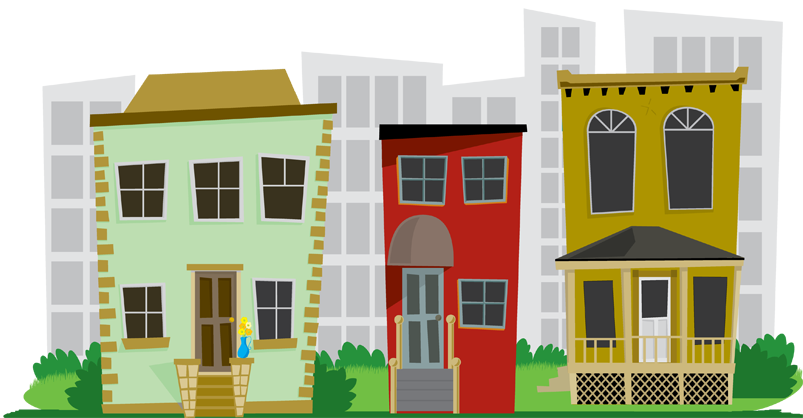 City house clipart