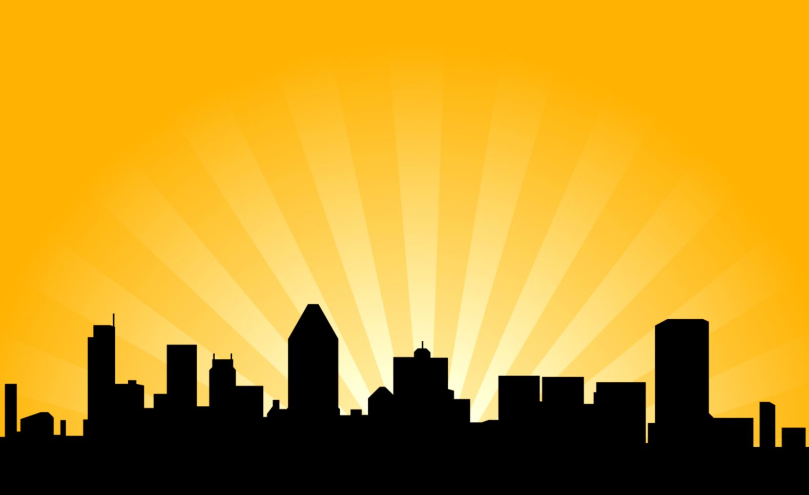 City night skyline clipart clipart black and white City Skyline Silhouette Clipart | Free download best City Skyline ... clipart black and white