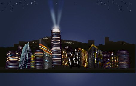 City night skyline clipart png royalty free stock Free City Nights Skyline Clipart and Vector Graphics - Clipart.me png royalty free stock