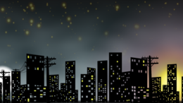 City night skyline clipart clipart royalty free stock Download skyline new york city night clipart Cityscape Skyline Clip art clipart royalty free stock