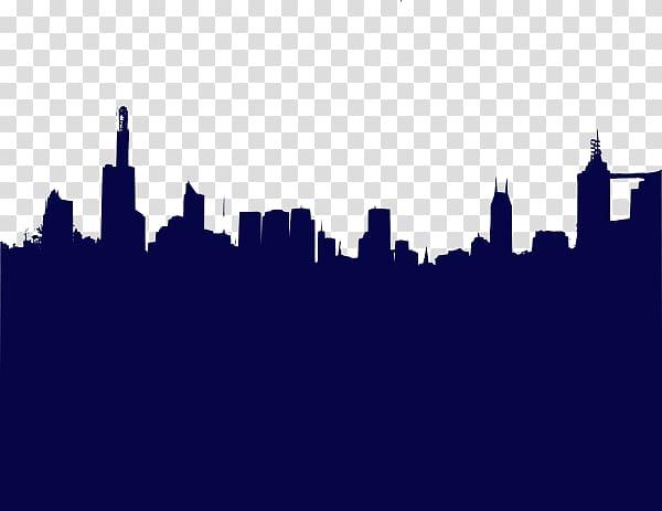 City night skyline clipart svg royalty free Chicago Night City Skyline Illustration, Cartoon night sky city ... svg royalty free