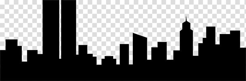 City night skyline clipart vector transparent download New York City Skyline , Night Buildings transparent background PNG ... vector transparent download
