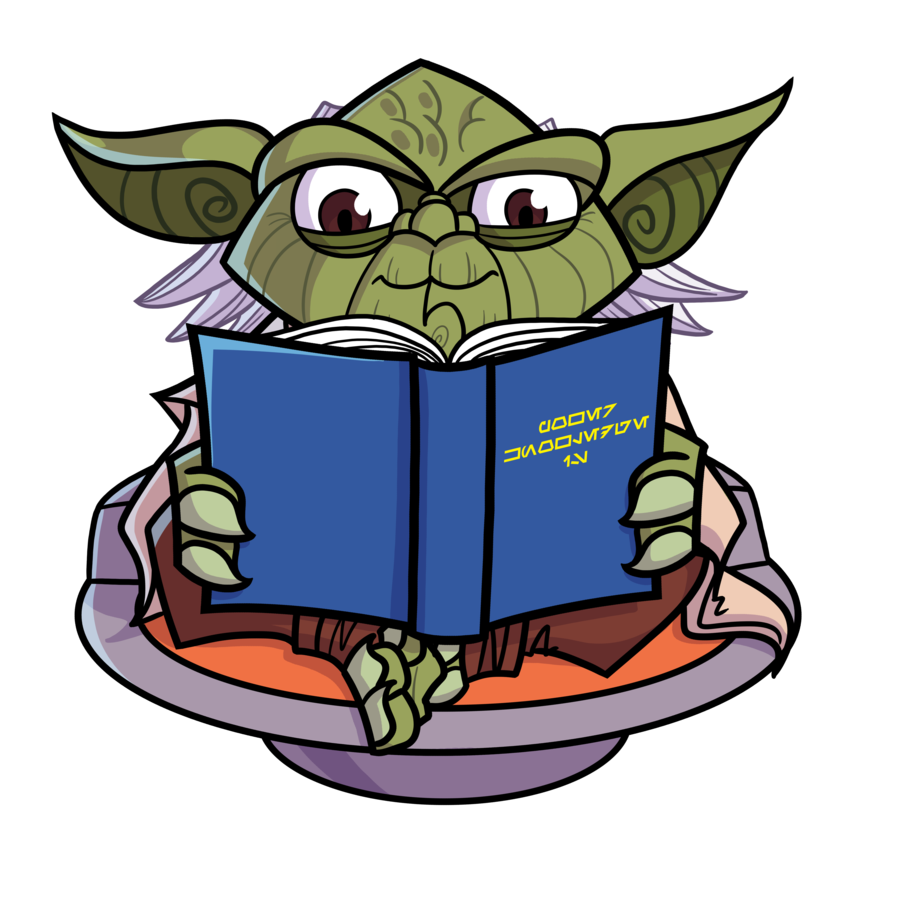 Clipart of man sitting on toilet reading book image library library Joe Hogan strikes again! Commish - Reading Yoda Loves by JoeHoganArt ... image library library