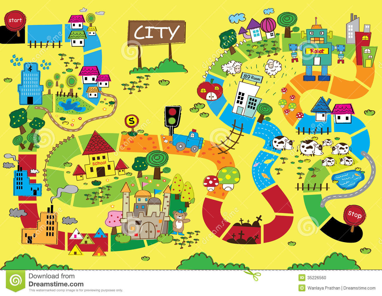 City road map clipart graphic royalty free library Simple Street Map Clipart - Clipart Kid graphic royalty free library