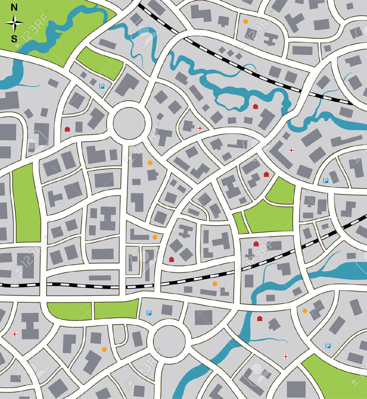 City road map clipart jpg transparent download City road map clipart - ClipartFest jpg transparent download