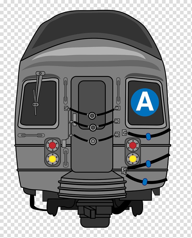 City train clipart svg library library New York City Subway Rapid transit Train, train transparent ... svg library library
