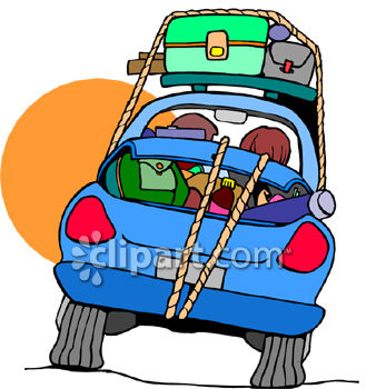 City trip clipart clip stock Luggage and trip clipart image | Clipart.com clip stock