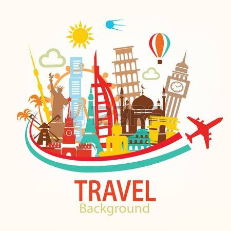 City trip clipart picture library library World Travel Clipart | Free download best World Travel Clipart on ... picture library library