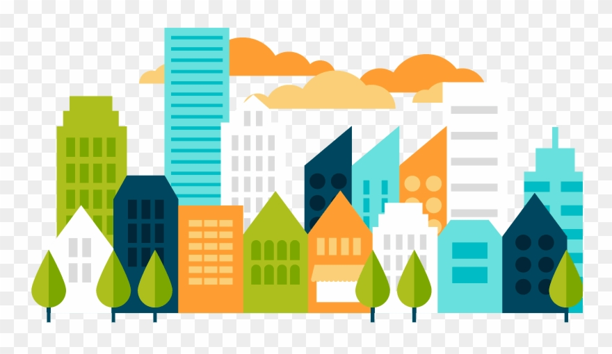 City vector clipart clipart free Clip Art Transparent Stock Collection Of Free Builded - Smart City ... clipart free
