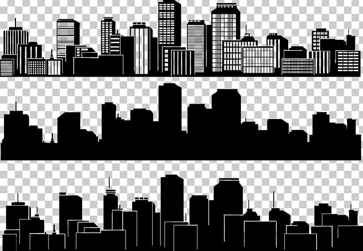 Cityscape clipart black backround banner freeuse stock City Silhouette Skyline Building PNG, Clipart, Black, Black ... banner freeuse stock