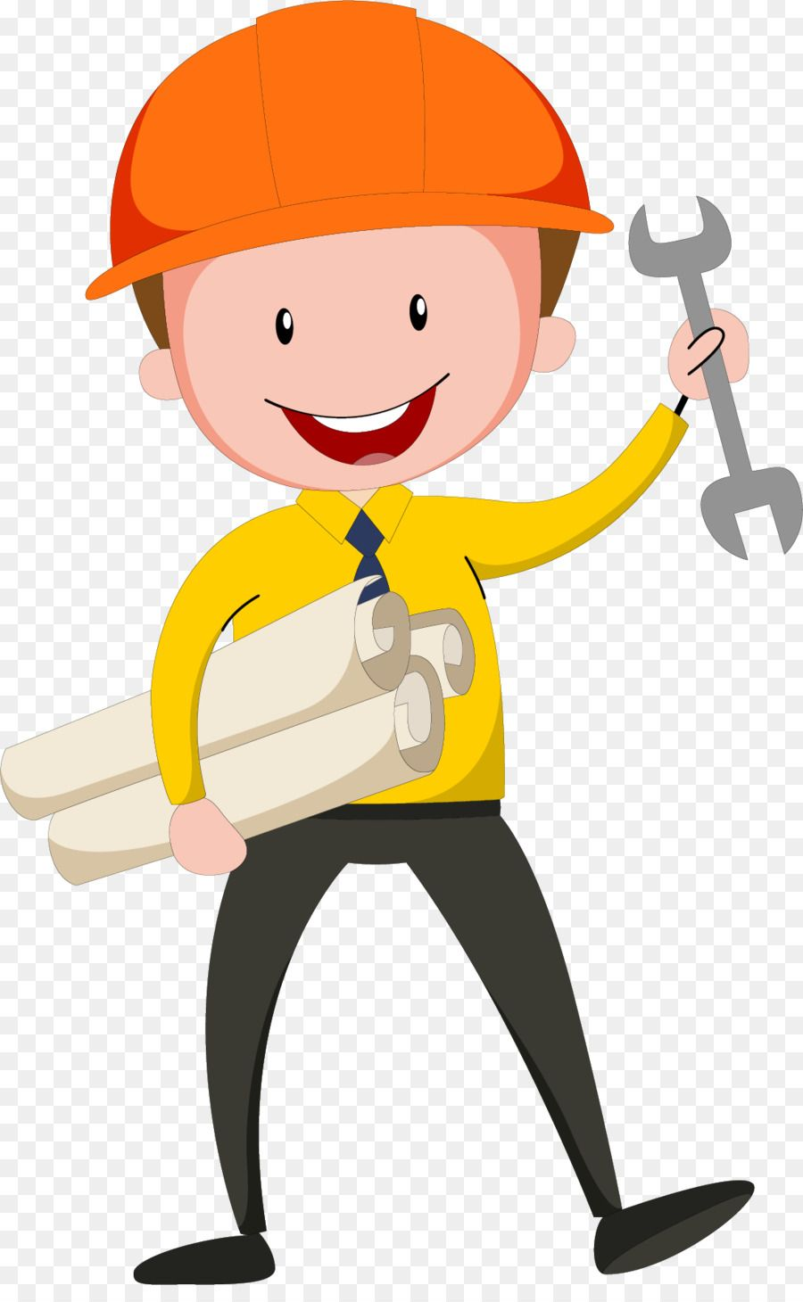 Civil engineering clipart free library Civil Engineering Design Engineer - Wearing a helmet design engineer ... free library