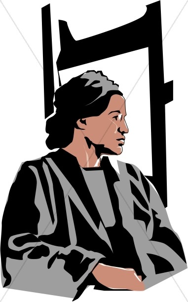 Civil rights leaders clipart svg library download Rosa Parks Begins the Civil Rights Movement | Famous People Clipart svg library download