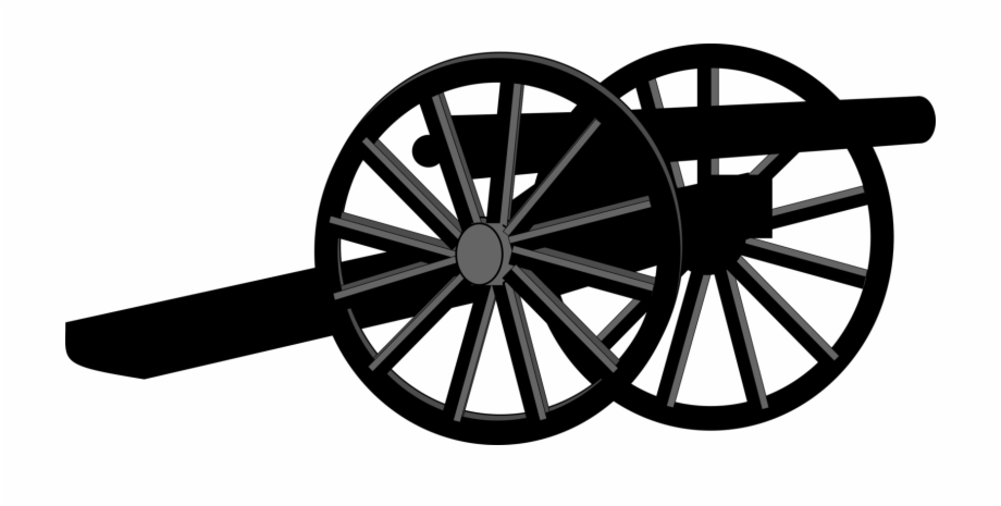 Civil war artillery clipart image black and white American Civil War United States Soldier - Civil War Cannon Clipart ... image black and white