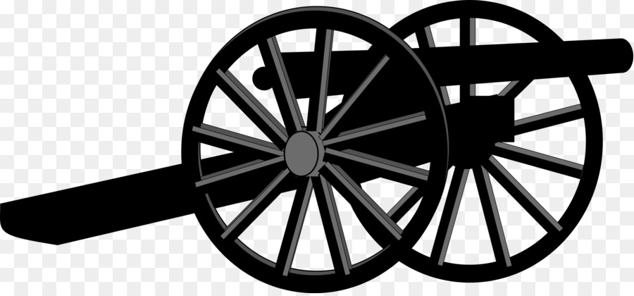 Civil war clipart black and white free png royalty free library American Civil War Wheel png download - 2400*1110 - Free Transparent ... png royalty free library