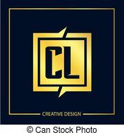Cl clipart vector black and white stock Cl logo Vector Clip Art Royalty Free. 113 Cl logo clipart vector EPS ... vector black and white stock